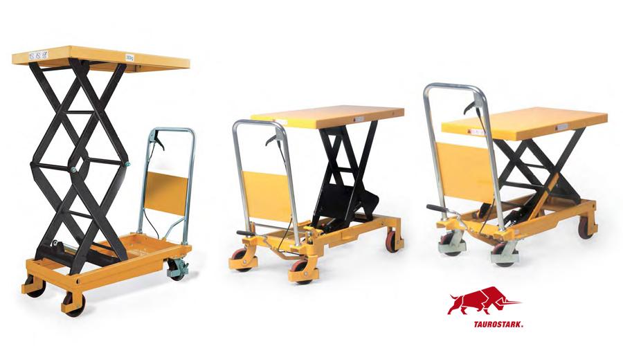 Scheren-Hubtischwagen